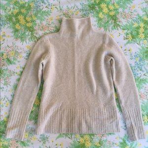 Madewell Inland Turtleneck Sweater, XS, Ivory
